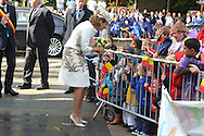 &copy;www.agencepeps.be/ F.Andrieu- A.Rolland / Imagebuzz.be  - Belgique -Bruxelles - 130910 - Roi Philippe et la Reine Mathilde joyeuse entr&eacute;e en Brabant Wallon &agrave; Wavre <br /> Arriv&eacute;e du Roi et de la Reine