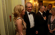 Ken Loach and Eva Birthistle. 25th  annual Awards of the London critic's Circle in aid of the NSPCC. The Dorchester. Park Lane. London. 9 February 2005. ONE TIME USE ONLY - DO NOT ARCHIVE  © Copyright Photograph by Dafydd Jones 66 Stockwell Park Rd. London SW9 0DA Tel 020 7733 0108 www.dafjones.com