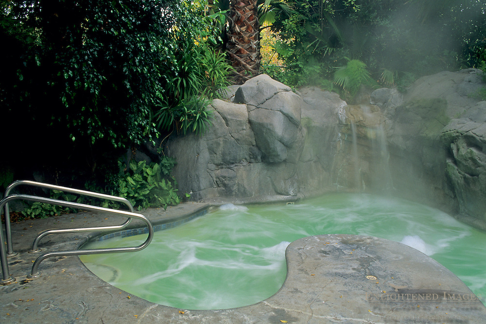 Oasis Spa, Sycamore Springs Resort, near Avila Beach, San Luis Obispo County, California