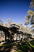 Single Track Rail Bridge, Western NSW, Australia
