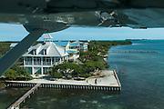 Caye Caulker<br /> Aerial view<br /> Belize,<br /> Central America