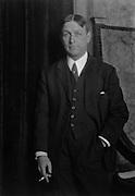 Arthur Train, American Author and Criminologist, 1921