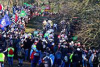 ILLUSTRATION COURSE HOMMES ELITE  - 11.01.2015 - Cyclo cross - Championnats de France Femmes - Pontchateau<br /> Photo : Vincent Michel / Icon Sport