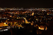 Granada seen by night Spain
