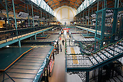 Budapest, Hungary indoor central market