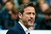 Leeds United manager Thomas Christiansen  during the EFL Sky Bet Championship match between Bolton Wanderers and Leeds United at the Macron Stadium, Bolton, England on 6 August 2017. Photo by Simon Davies.