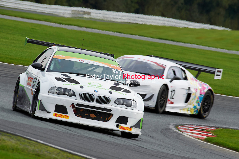 #67 Mick MERCER BMW E46 M3 GTR during GT Cup - Race 1 as part of the MSVR Oulton Park 10th October 2015 at Oulton Park, Little Budworth, Cheshire, United Kingdom. October 10 2015. World Copyright Taylor/PSP. Copy of publication required for printed pictures.  Every used picture is fee-liable. http://archive.petertaylor-photographic.co.uk