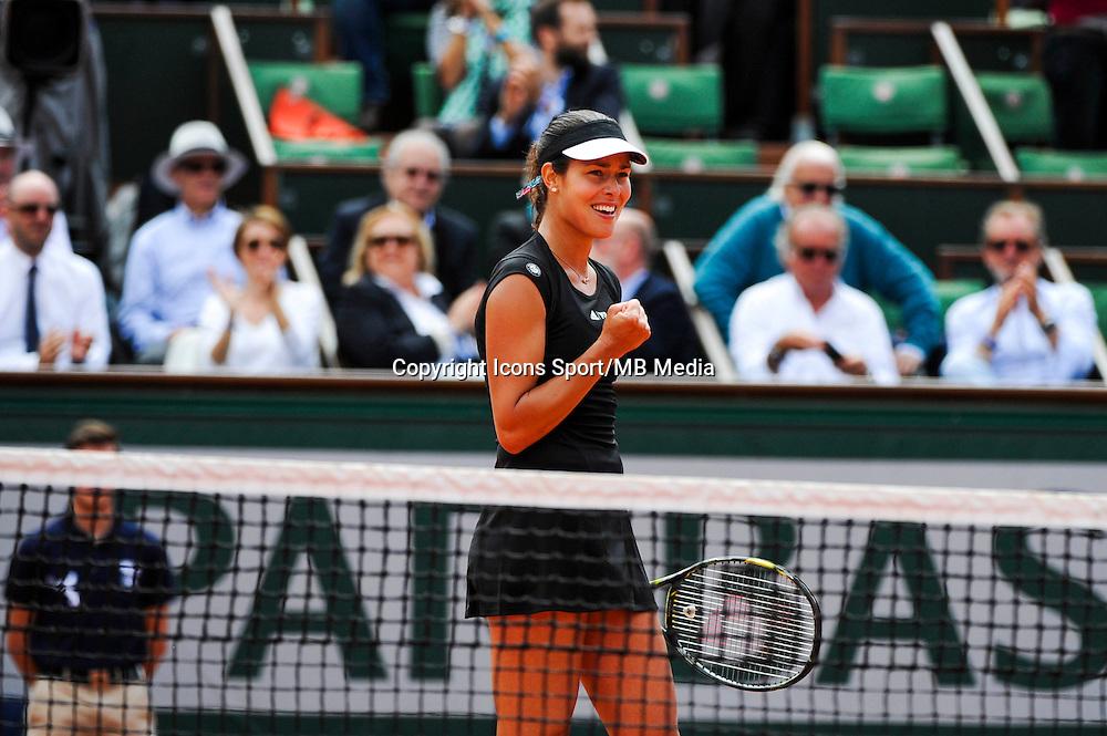 Ana IVANOVIC  - 02.06.2015 - Jour 10 - Roland Garros 2015<br /> Photo : Nolwenn Le Gouic / Icon Sport