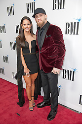 Nov. 13, 2018 - Nashville, Tennessee; USA - Musician BRANTLEY GILBERT and wife attends the 66th Annual BMI Country Awards at BMI Building located in Nashville.   Copyright 2018 Jason Moore. (Credit Image: © Jason Moore/ZUMA Wire)