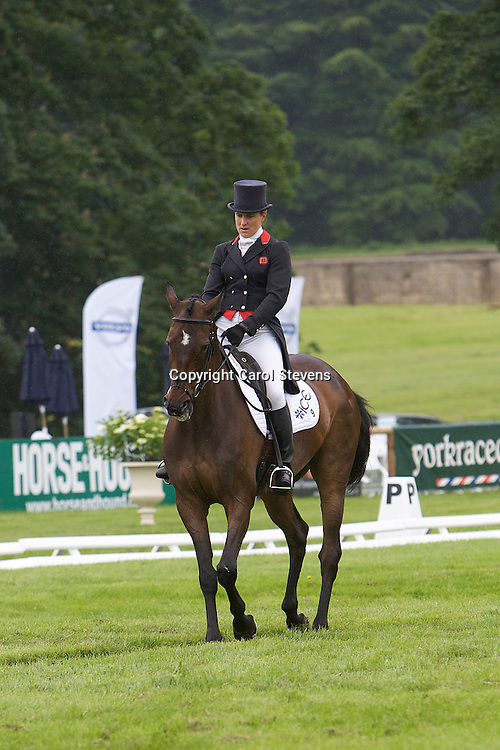 Kristina Cook riding Regal Red<br />