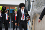 Marouane Fellaini of Manchester United before the Barclays Premier League match between Crystal Palace and Manchester United at Selhurst Park, London, England on 31 October 2015. Photo by Ellie Hoad.