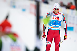 February 24, 2019 - Seefeld In Tirol, AUSTRIA - 190224 Jarl Magnus Riiber of Norway after finishing the men's nordic combined team sprint during the FIS Nordic World Ski Championships on February 24, 2019 in Seefeld in Tirol..Photo: Vegard Wivestad Grøtt / BILDBYRÃ…N / kod VG / 170297 (Credit Image: © Vegard Wivestad GrØTt/Bildbyran via ZUMA Press)