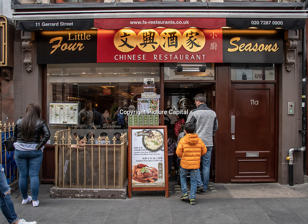 Little Four Seasons in London Chinatown Sweet Tooth Cafe and Restaurant at Newport Court and Garret Street on 15 June 2019, UK.