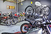 Deus custom motorcycle garage in Canggu.  Bali, Indonesia.