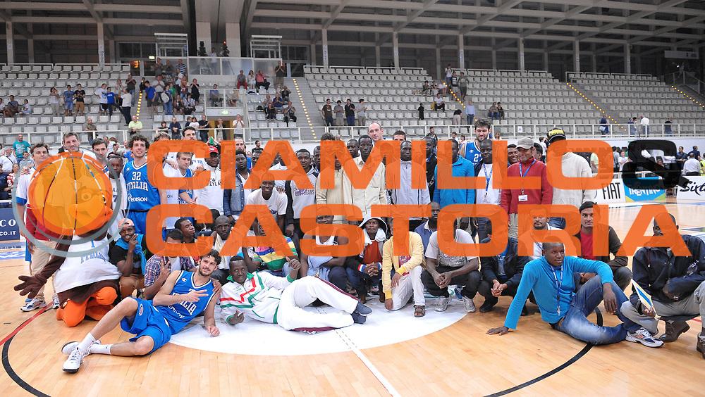 DESCRIZIONE : Trento Nazionale Italia Uomini Trentino Basket Cup Italia Olanda Italy Holland<br /> GIOCATORE : team italia extracomunitari<br /> CATEGORIA : curiosita'<br /> SQUADRA : Italia Italy<br /> EVENTO : Trentino Basket Cup<br /> GARA : Italia Olanda Italy Holland<br /> DATA : 11/07/2014<br /> SPORT : Pallacanestro<br /> AUTORE : Agenzia Ciamillo-Castoria/A.Scaroni<br /> Galleria : FIP Nazionali 2014<br /> Fotonotizia : Trento Nazionale Italia Uomini Trentino Basket Cup Italia Olanda Italy Holland