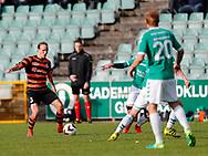 FODBOLD: Frederik Bay (FC Helsingør) under kampen i NordicBet Ligaen mellem AB og FC Helsingør den 11. maj 2017 på Helsingør Stadion. Foto: Claus Birch