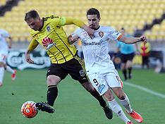 Wellington-Football, A-League, Phoenix v Brisbane Roar FC