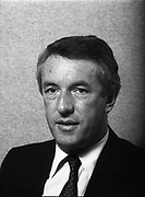 Portrait of Mr. Alan McCarthy, Chief Execute, C.T.T., Merrion House, Dublin,<br /> 18th May 1984