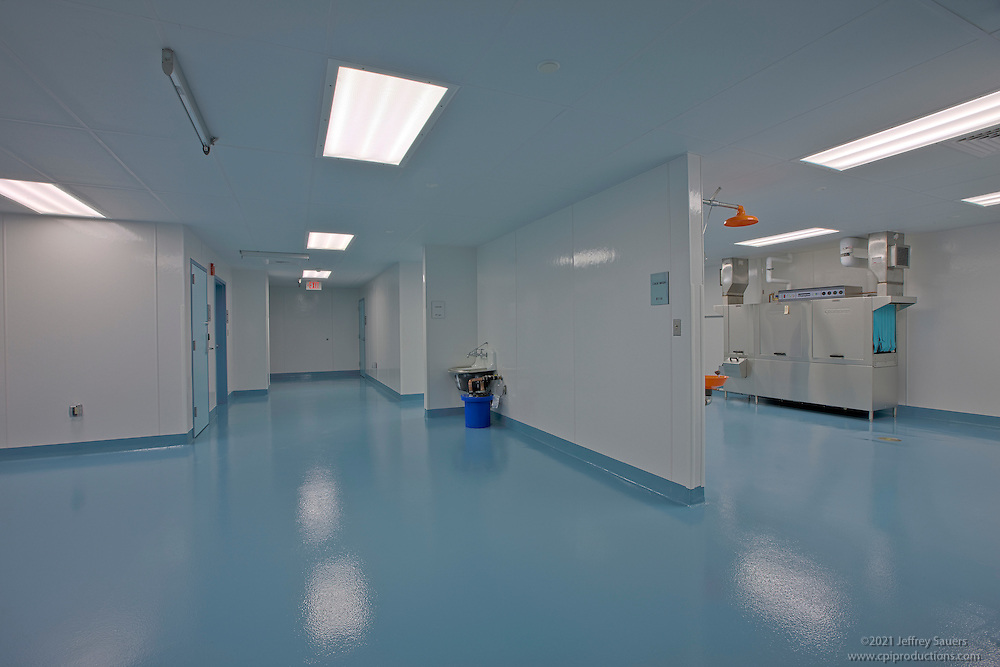 Interior image of Biomere Labs for Plano-Coudon Construction