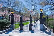 Gate Entrance leading to the White House, Washington D.C., Executive  home of the President of the United States, Nation's Capital, Washington DC, USA