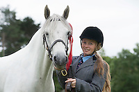 18/08/2016 repro free Danielle Fahy from Loughrea with Kippaunagh lass at the 93rd annual Connemara Pony show in Clifden Co. Galway. Photo:Andrew Downes, XPOSURE