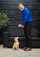 When David met David: The star and the 10,000th guide dog puppy.<br /> <br /> TV star David Walliams met his very special namesake this week as the charity Guide Dogs celebrated a landmark puppy.<br /> <br /> Yellow Labrador David is the 10,000th pup born since the opening of the charity&rsquo;s state-of-the-art National Breeding Centre and he has been named after the popular comedian, actor, author, and presenter.<br /> <br /> The ten-week-old pup paid the Britain&rsquo;s Got Talent judge a visit at his north London home and the pair got on famously. David said: &ldquo;It&rsquo;s a huge thrill to have a guide dog puppy named David after me, I&rsquo;m just sorry I don&rsquo;t have a more memorable name!<br /> <br /> Puppy David will now go on to complete around 20 months of specialised training before being partnered with someone who has sight loss.<br /> <br /> For more information contact Annabel Williams on 0118 983 0183 or email annabel.williams@guidedogs.org.uk<br /> <br /> Picture date Thursday 30th August, 2018.<br /> Picture by Christopher Ison for Guide Dogs.<br /> <br /> IMAGE FREE FOR EDITORIAL USE.