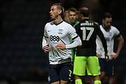 Preston North End defender Marnick Vermijl (2) during the EFL Sky Bet Championship match between Preston North End and Brighton and Hove Albion at Deepdale, Preston, England on 14 January 2017.