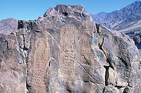 Pakistan. Khyber Pakhtunkhwa, Karakoram Highway (KKH). Bouddhist carving. // Pakistan. Province Khyber Pakhtunkhwa, Route du Karakoram (KKH). Gravures bouddhistes.
