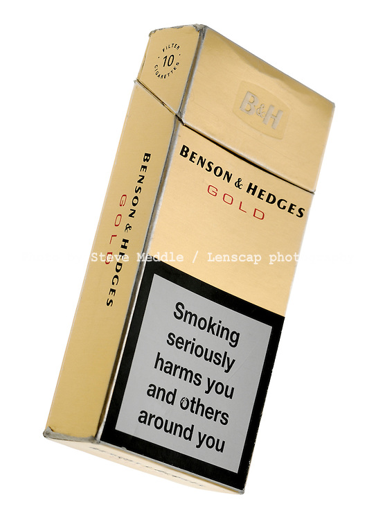 Packet of 10 Benson & Hedges Cigarettes