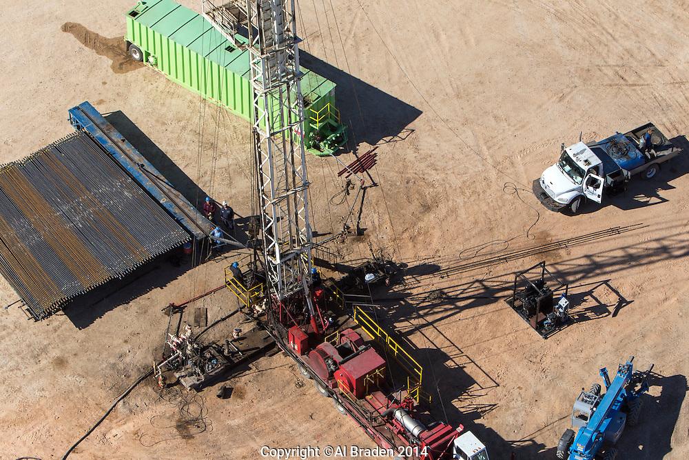 Workover rig, Cotulla, TX