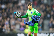 Mathew Ryan (GK) (Brighton) getting to the goal ahead of the Premier League match between Tottenham Hotspur and Brighton and Hove Albion at Tottenham Hotspur Stadium, London, United Kingdom on 26 December 2019.