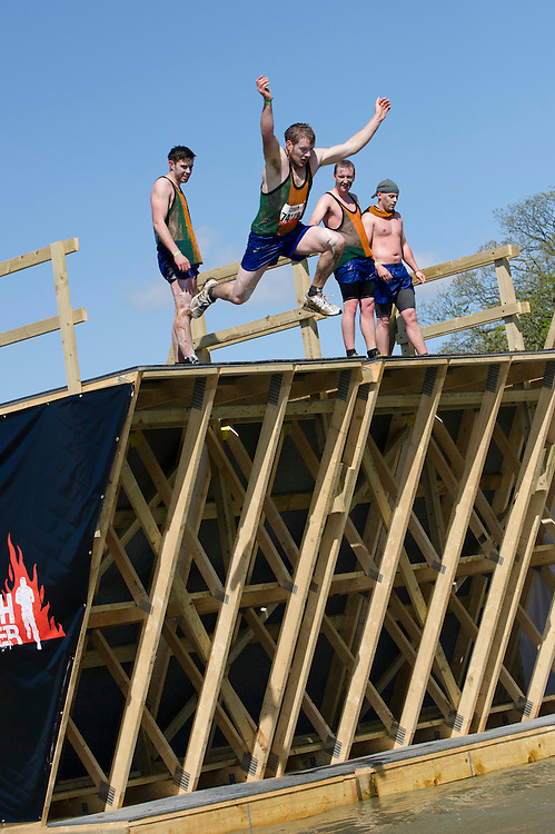 Tough Mudder - May 2012 - Northamptonshire - High Jump