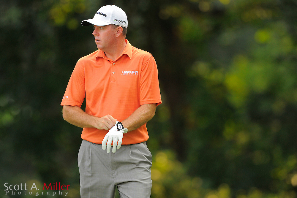 Robert Garrigus during the second round of the AT&T National at Congressional Country Club on June 29, 2012 in Bethesda, Maryland. ..©2012 Scott A. Miller