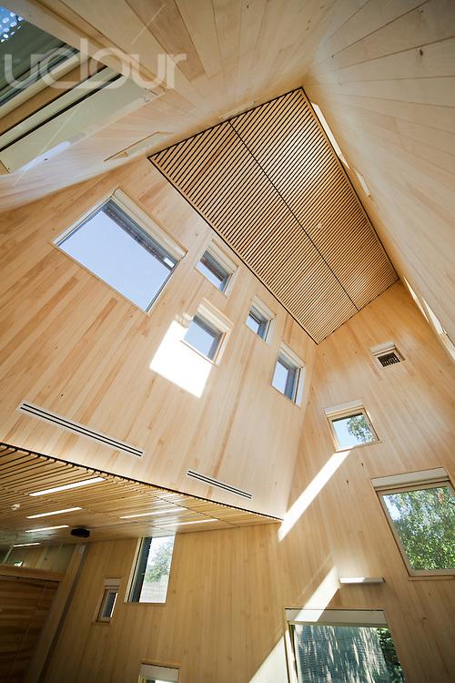 Tallhall meteorologisk inne belysning tak