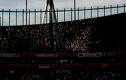 Arsenal Fans in sun light  - Mandatory by-line: Joe Meredith/JMP - 25/07/2015 - SPORT - FOOTBALL - London,England - Emirates Stadium - Arsenal v Lyon - Emirates Cup
