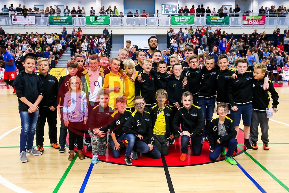 Half time photos - Rogan/JMP - 11/11/2017 - BASKETBALL - SGS Wise Arena - Bristol, England. - Bristol Flyers v Glasgow Rocks - British Basketball League.