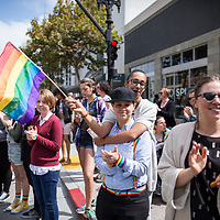 Pride Parade. Oakland, California. September 2016. <br /> <br /> Editorial Photographer.<br /> <br /> Drew Bird Photography<br /> San Francisco Bay Area Photographer<br /> Have Camera. Will Travel. <br /> <br /> www.drewbirdphoto.com<br /> drew@drewbirdphoto.com