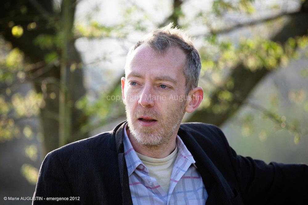 Raphaël POTIER, comédien - tournage scène imposée de François YANG - emergence 2012