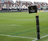 A general view of Rodney Parade, home of Dragons<br /> <br /> Photographer Simon King/Replay Images<br /> <br /> Guinness PRO14 Round 1 - Dragons v Benetton Treviso - Saturday 1st September 2018 - Rodney Parade - Newport<br /> <br /> World Copyright &copy; Replay Images . All rights reserved. info@replayimages.co.uk - http://replayimages.co.uk