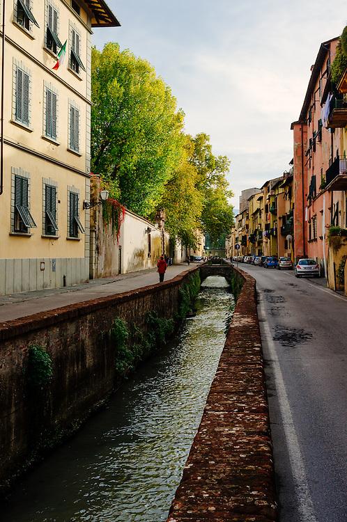 Via del Fosso - Lucca, Italy