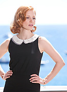 Actress Jessica Chastain poses for portraits during promotion for the film The Tree of Life at the 64th international film festival, in Cannes, southern France, Tuesday, May 17, 2011. (AP Photo/Joel Ryan)