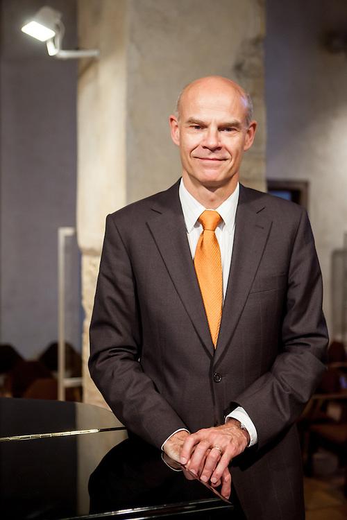 """Programm Direktor des Festivals """"Prager Frühling"""" Roman Belor."""