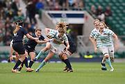 Twickenham, United Kingdom. Action from the 2015 Women's Varsity Match, Oxford vs Cambridge, RFU Twickenham Stadium, England.<br /> <br /> Thursday  10/12/2015<br /> <br /> [Mandatory Credit. Peter SPURRIER/Intersport Images].