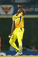 Jason Holder of Chennai Super Kings  during match 3 of the Karbonn Smart Champions League T20 (CLT20) 2013  between The Chennai Superkings and the Titans held at the JSCA International Cricket Stadium, Ranchi on the 22nd September 2013<br /> <br /> Photo by Ron Gaunt-CLT20-SPORTZPICS  <br /> <br /> Use of this image is subject to the terms and conditions as outlined by the CLT20. These terms can be found by following this link:<br /> <br /> http://sportzpics.photoshelter.com/image/I0000NmDchxxGVv4