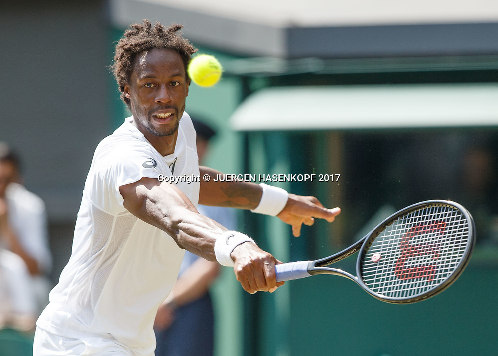 GAEL MONFILS (FRA)<br /> <br /> Tennis - Wimbledon 2016 - Grand Slam ITF / ATP / WTA -  AELTC - London -  - Great Britain  - 6 July 2017.
