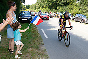 Sylvain Chavanel (FRA - Direct Energie) during the Tour de France 2018, Stage 2, Mouilleron-Saint-Germain - La Roche-sur-Yon (182,5 km) on July 8th, 2018 - Photo Luca Bettini / BettiniPhoto / ProSportsImages / DPPI