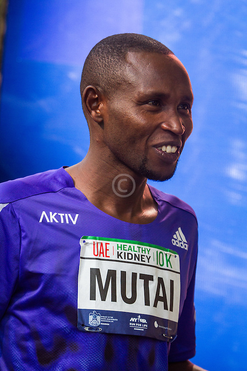 UAE Healthy Kidney 10K, Geoffrey Mutai