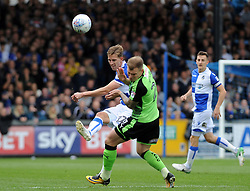 Joe Partington of Bristol Rovers clears the ball upfield - Mandatory by-line: Neil Brookman/JMP - 30/09/2017 - FOOTBALL - Memorial Stadium - Bristol, England - Bristol Rovers v Plymouth Argyle - Sky Bet League One