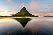 Kirkjufell sunset in west-Iceland Snaefellsnes