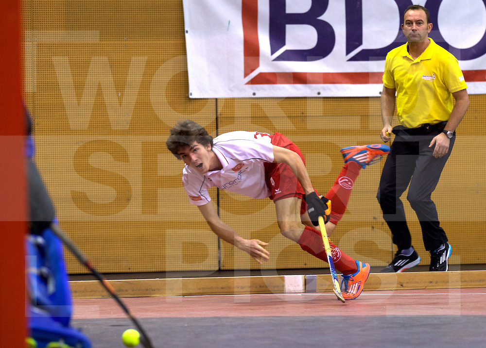 2017 EuroHockey Indoor Junior Championship (M)<br /> 13 Suisse - Portugal<br /> Foto: <br /> FFU PRESS AGENCY COPYRIGHT FRANK UIJLENBROEK
